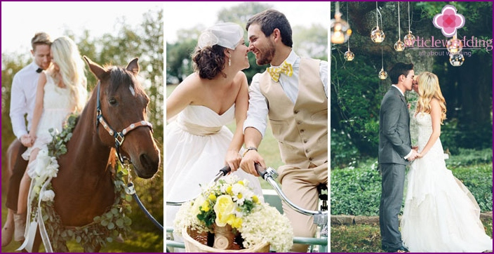 Wedding photo shoot: Accessories