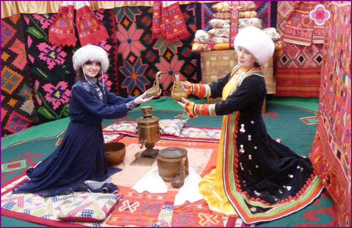 Traditional dowry in Bashkiria