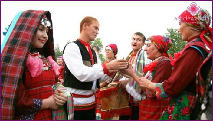 Poslesvadebnye tradition Udmurt