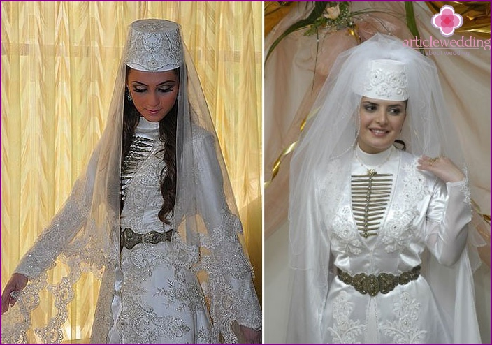 Wedding outfit Armenian women