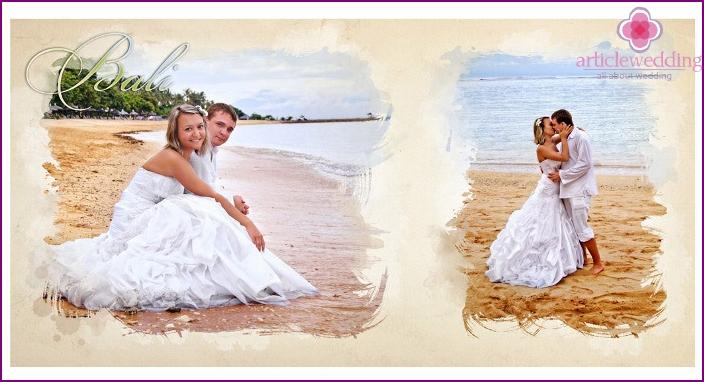 Wedding and honeymoon photobook