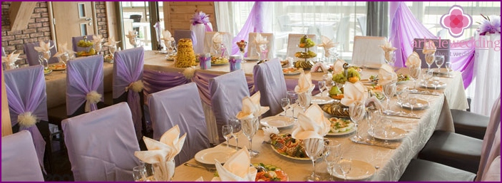 Receptions at home