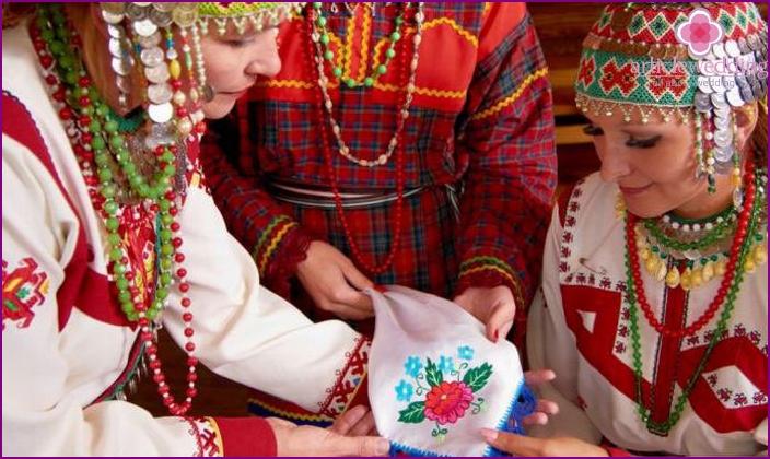 Cloth bride groom Chuvash