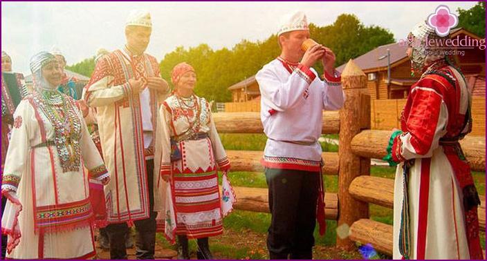 Chuvash courtship ritual