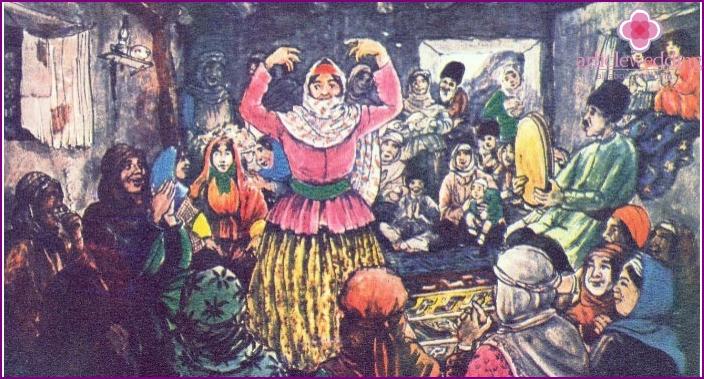 Pre-wedding chores Azerbaijani families