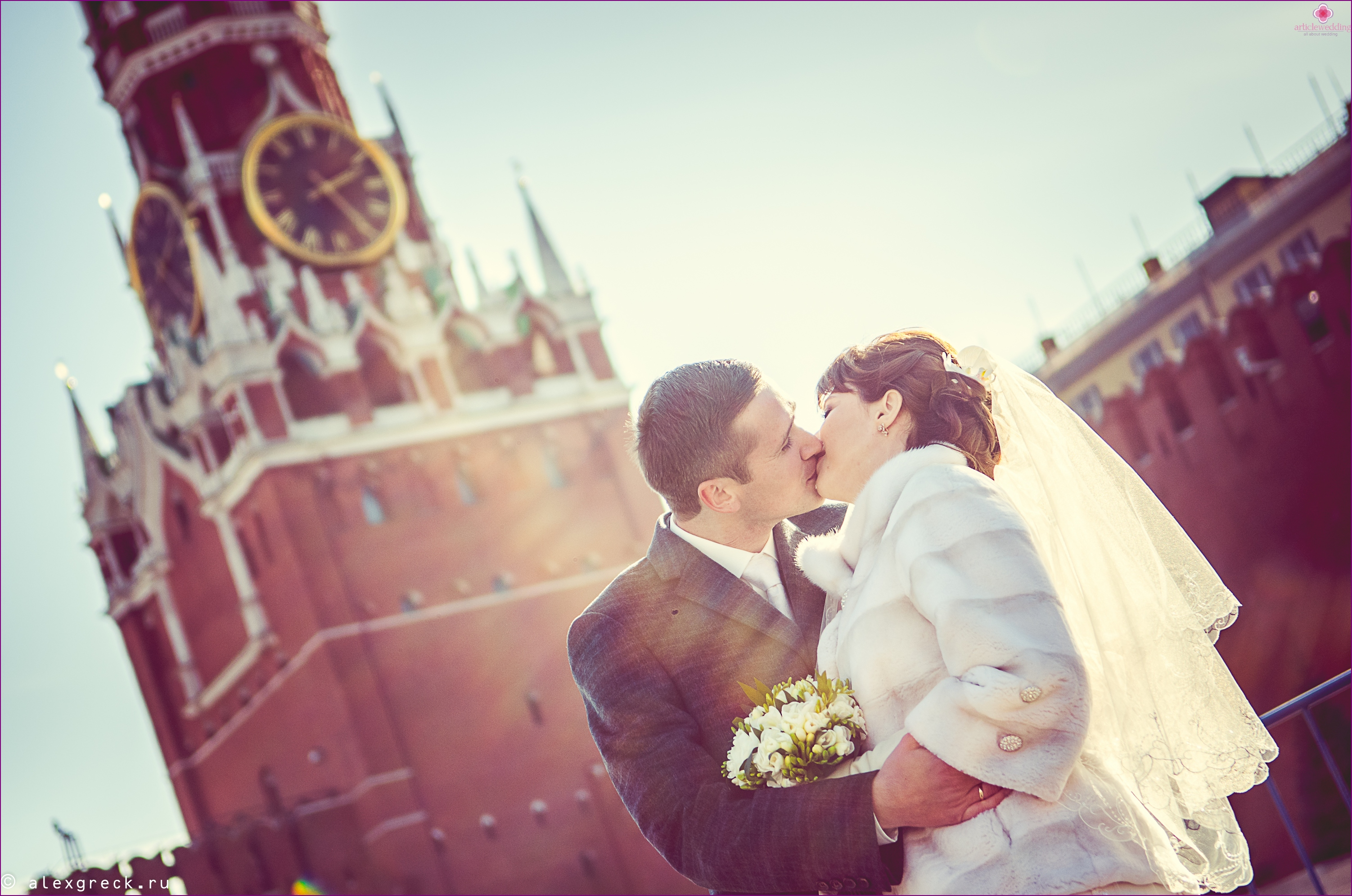 Red Square for the wedding walk