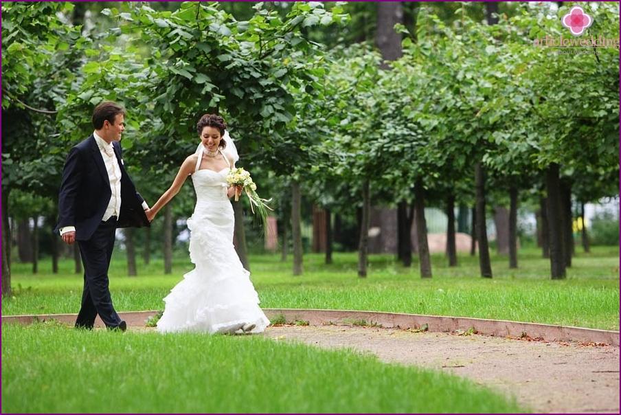 Photo shoot in Ostankino manor park