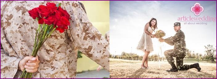 Bride Redemption style Airborne