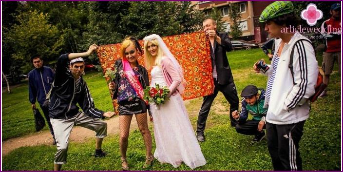Bride Redemption style Gopnik