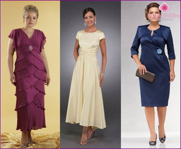 Evening dresses for mother of the groom