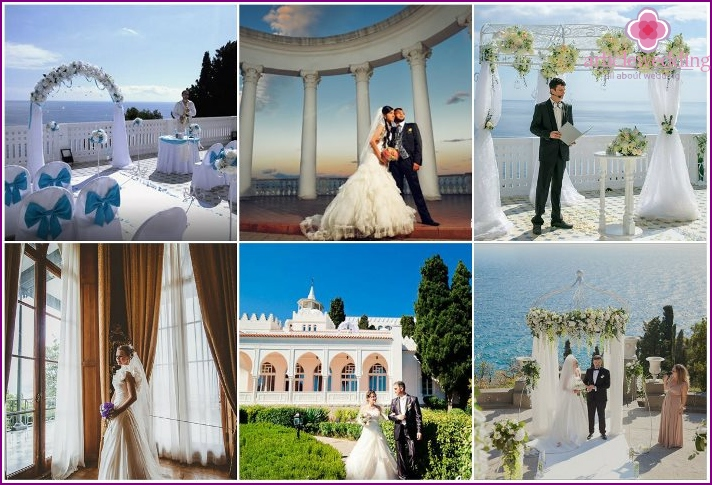 Weddings in Crimea