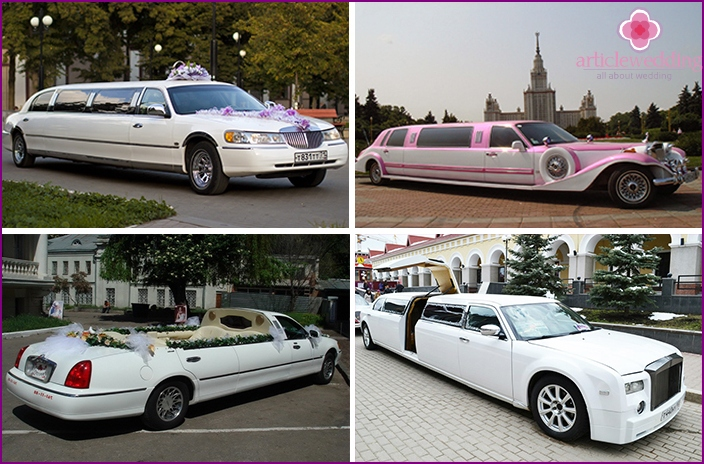 Long limousines