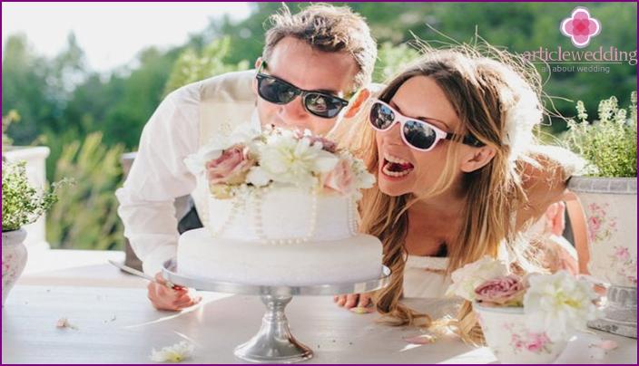 Cake cotton anniversary
