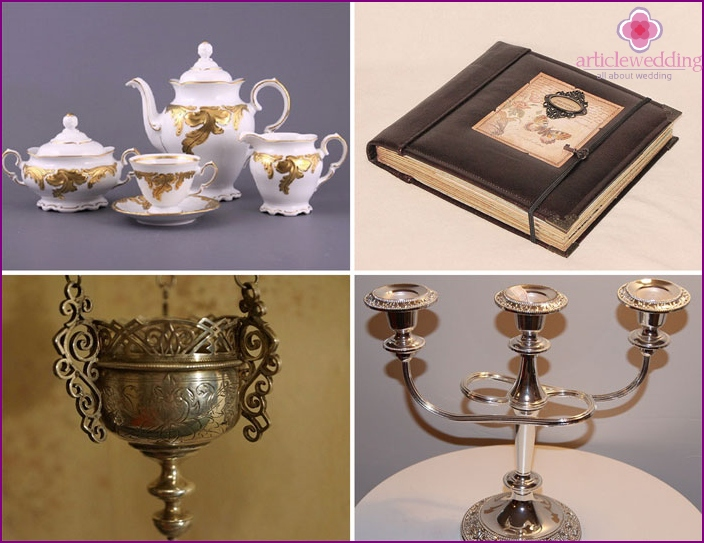 Wedding present from witnesses