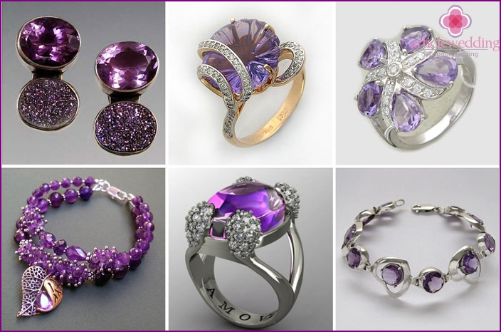 Jewellery amethyst wedding anniversary