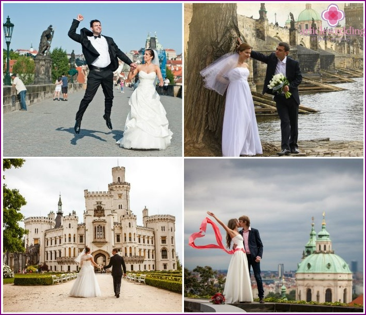 Wedding tour to the Czech Republic
