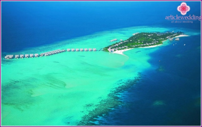 Maldives Baa Atoll and Raa