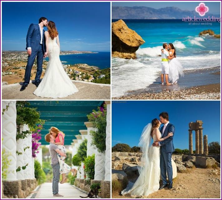 Honeymoon on Rhodes