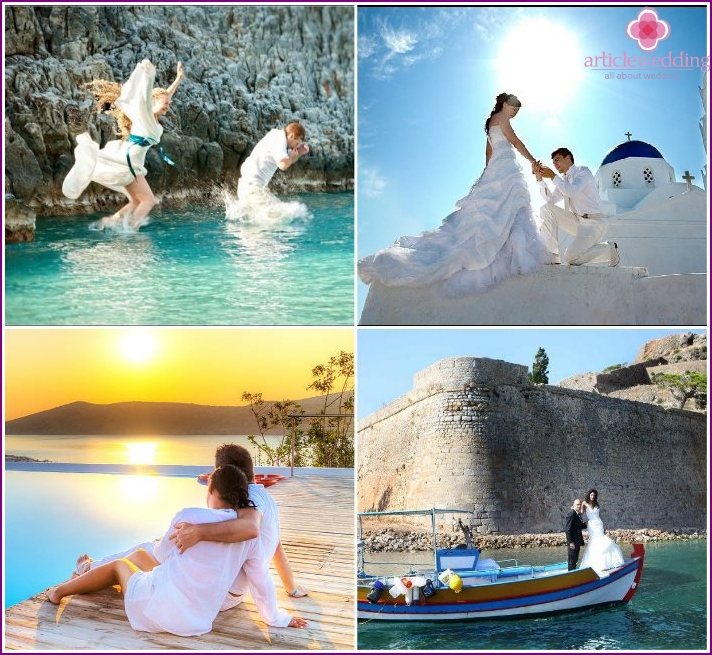 Honeymoon to Greece