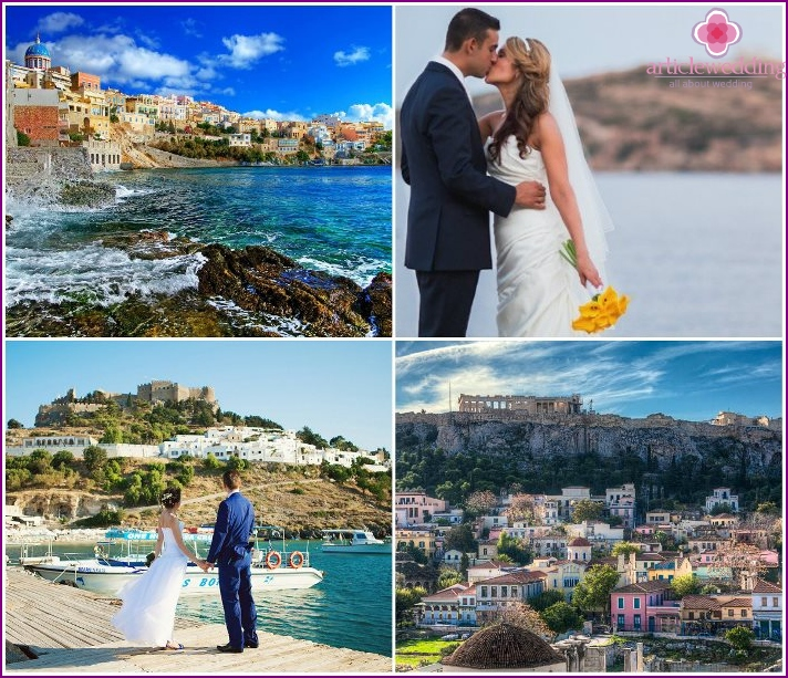 Wedding holiday in Athens