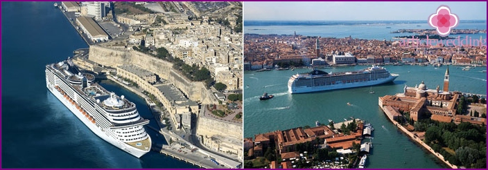 Mediterranean cruise honeymoon