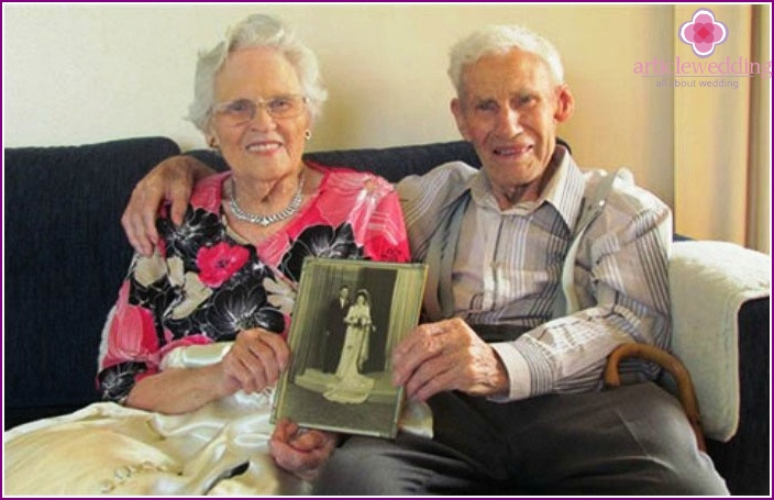 Anniversaries on 65th wedding anniversary