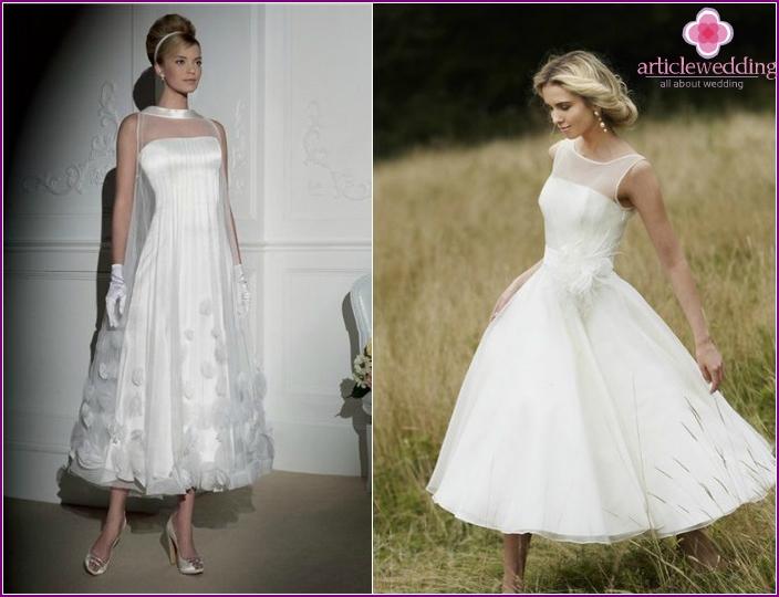 Shorter dresses models