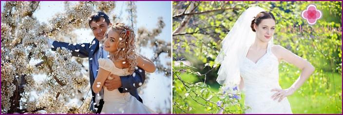 Advantages of the April wedding