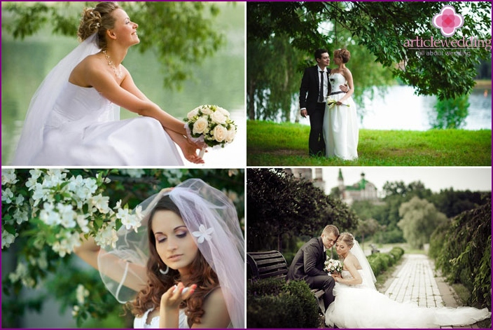Favourable wedding day in April