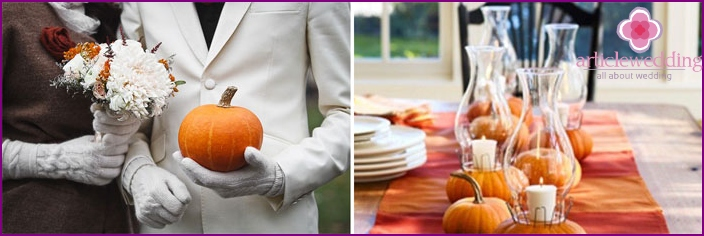 Ideas for weddings in Halloween