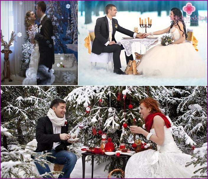 Wedding Style Winter's Tale