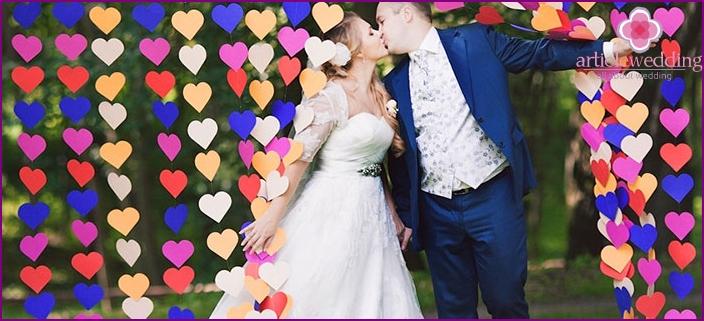 Wedding in Valentine's Day