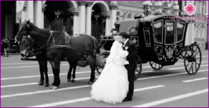 Wedding for two in St. Petersburg