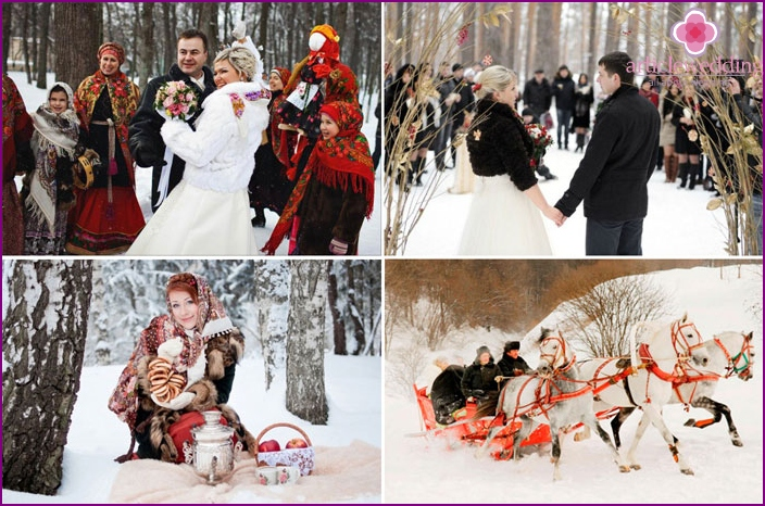 The story of the February wedding