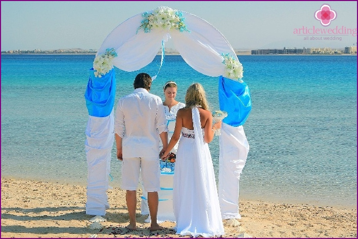 Wedding ceremony in Hurghada