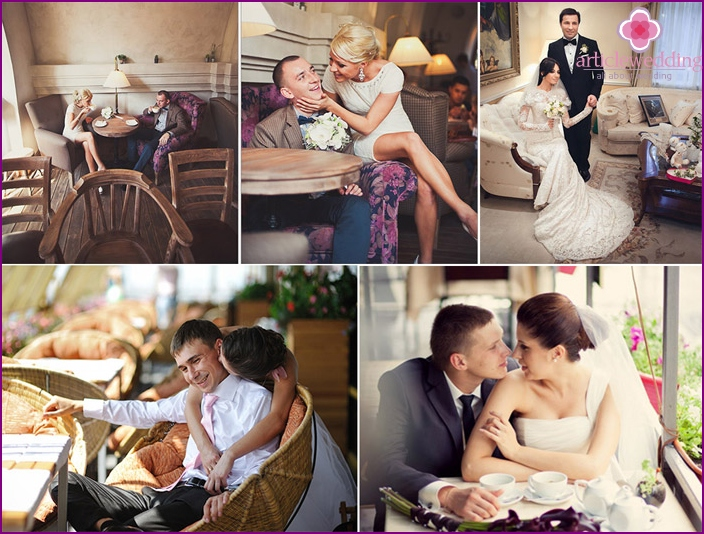 Country restaurant - the perfect place for intimate wedding