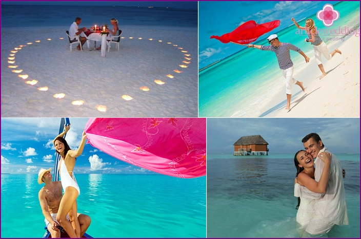 Maldives - a luxury version of the wedding for two