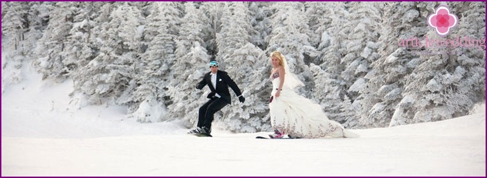 Snowboard VS Wedding: Together or Apart