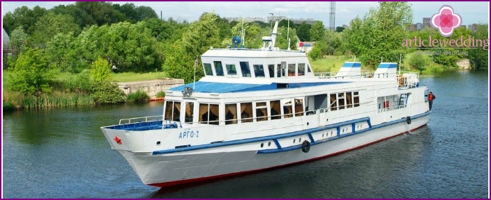 Wedding ship Argo-2