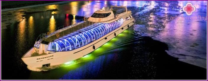 Wedding yacht Restaurant Ferdinand