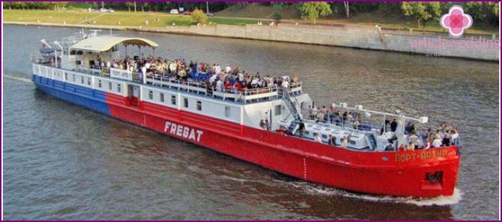 Wedding Vessel Port Arthur