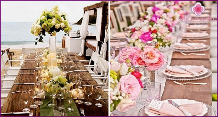 bruiloft boog maken