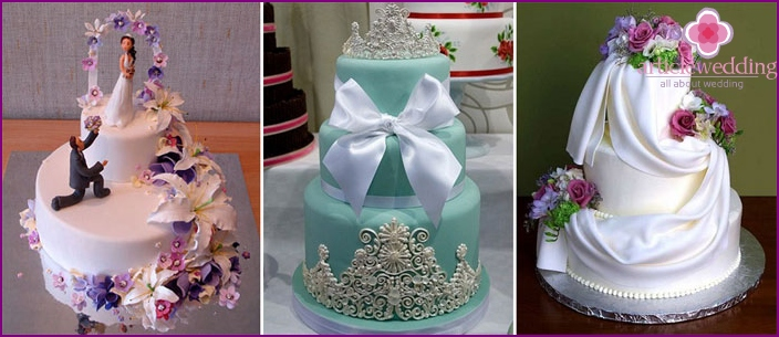 Wedding cake: the main trends in 2016