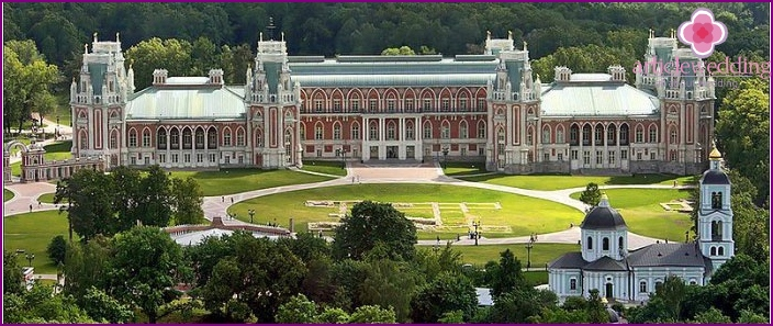 The magnificent architecture of Tsaritsyno