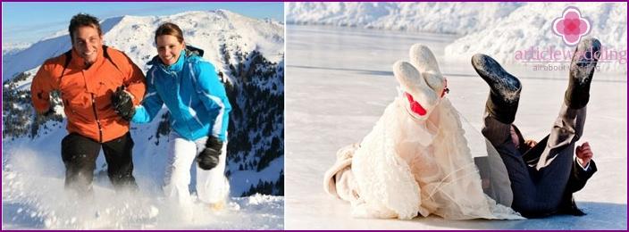 Honeymoon in winter is easy to make memorable