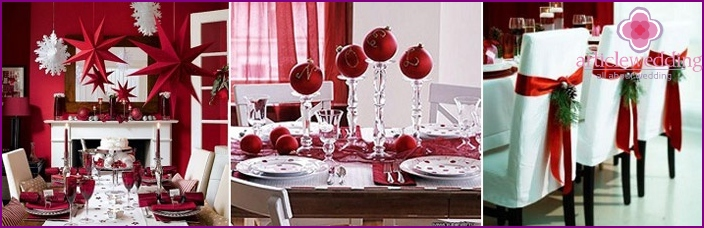 When making a Christmas wedding banquet important details