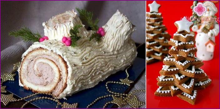 Wedding Christmas baking