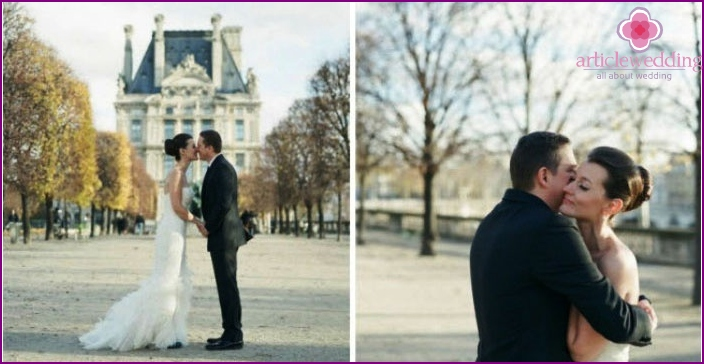Marriage in the territory of Paris