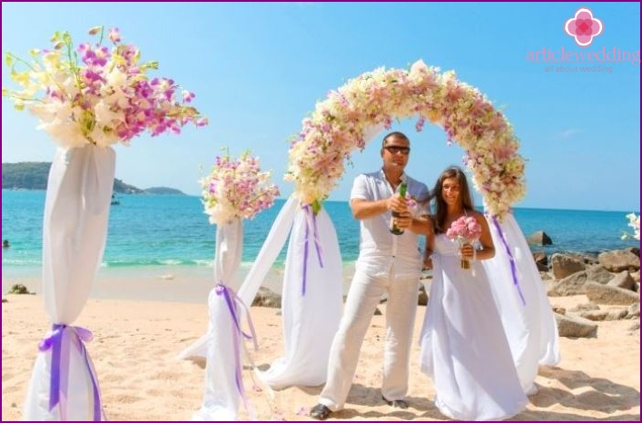 The cost of a wedding event in Phuket