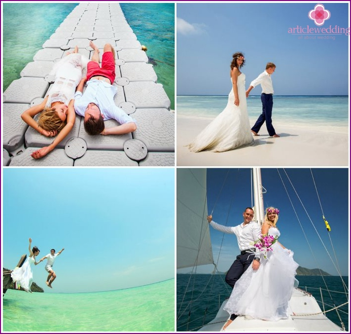Romantic wedding photo shoot in Phuket